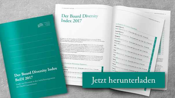 Titelblatt des Board Diversity Index 2017